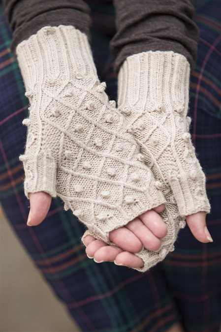 pearl lake mitts knitted mitts pattern