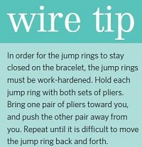 how-to tip to work-harden wire jump rings