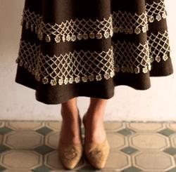 Crochet Beaded Edging