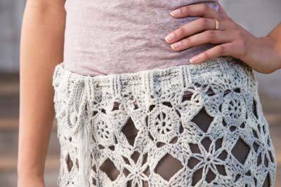 Crochet So Lovely: Motif Crochet Skirt
