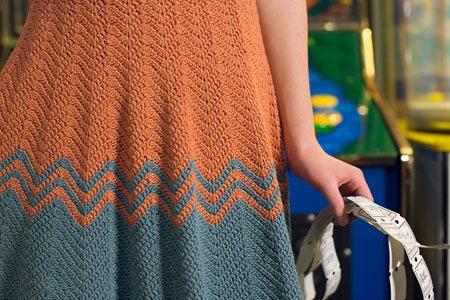 Dancette Dress skirt