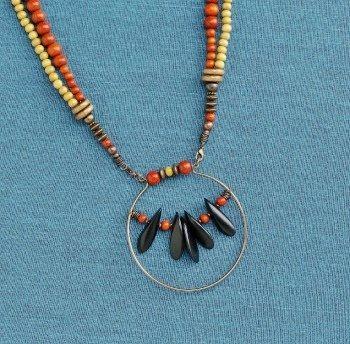 Michelle Mach's Key West necklace