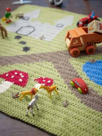 Crochet Playmat