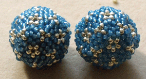 peyote beading dodecahedrons