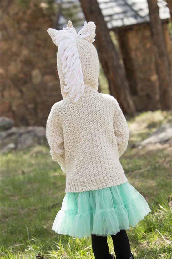 Crochet Ever After : Crochet Ever After: Unicorn Crochet Hoodie