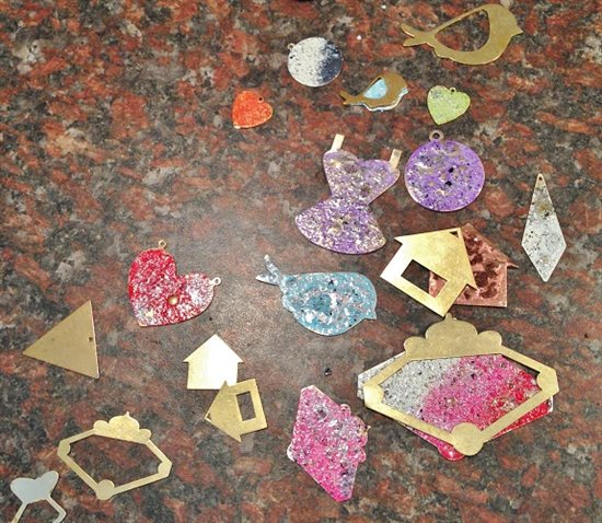 making ICED Enamels jewelry