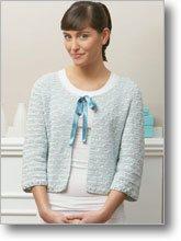 Crochet Cardigan - Ocean Pearls
