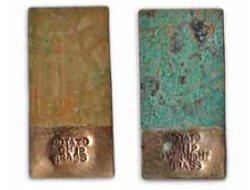 create brass jewelry patina using household items