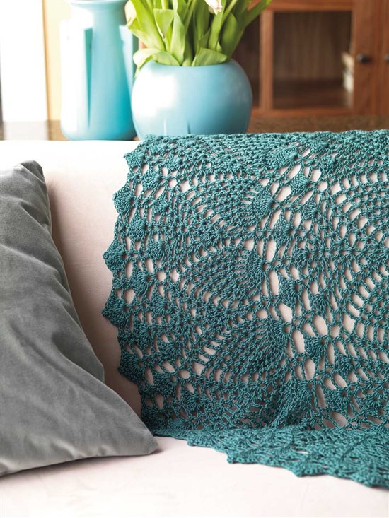 Lace Crochet Afghan