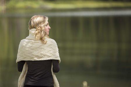 ozark wrap knitted shawl pattern