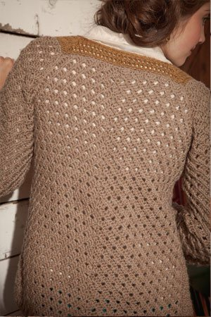 Lace Crochet Cardigan
