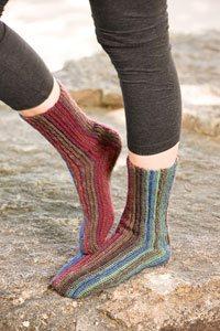 Brenda K. B. Anderson's Sydney's Sideways Socks