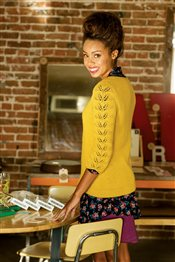 Honey Pullover Angela Hahn IW Knits Spring 2015