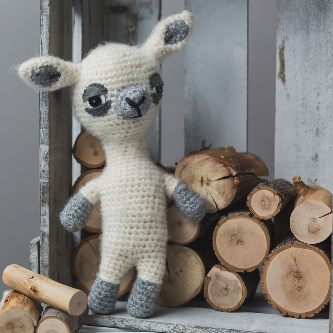 Little Llama Amigurumi | Credit: Harper Point Photography