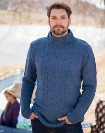 Deer Isle Pullover by Alison Green