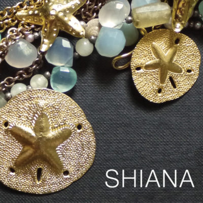 Fine silver jewelry components by SHIANA