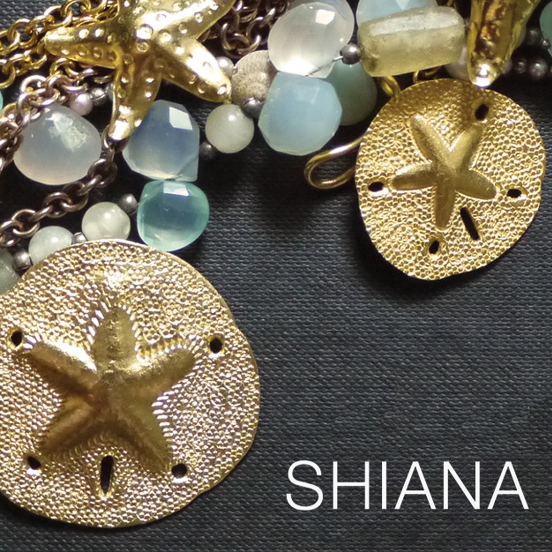 Fine silver jewelry components by SHIANA