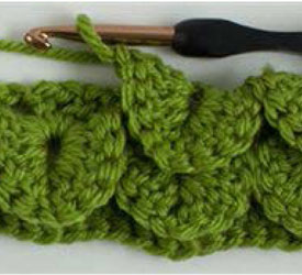 How to crochet crocodile stitch: free tutorial