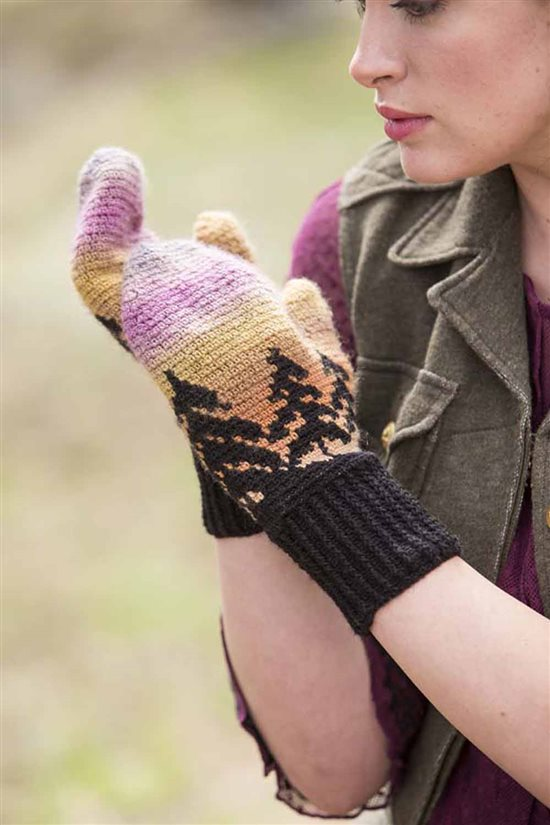 Crochet Ever After: Crochet Mittens