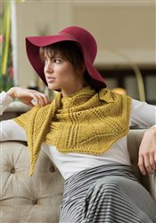 Five Points Shawl Norah Gaughan IW Knits Spring 2015