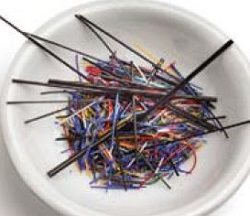 enamel threads and cat whiskers in enamel jewelry