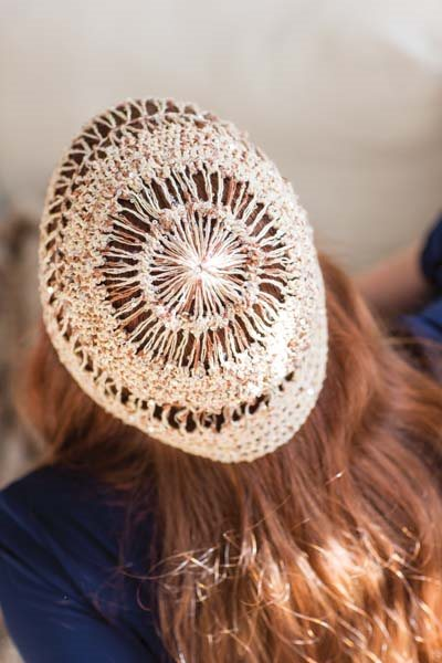Crochet So Lovely: Hairpin Crochet Beanie