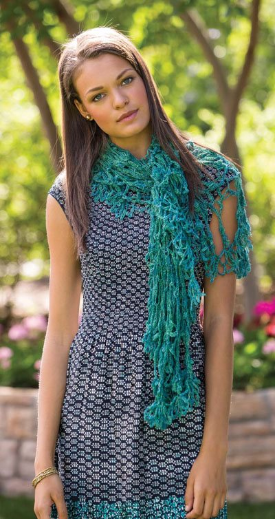 Colorful Crochet Lace: Lace Crochet Shawl