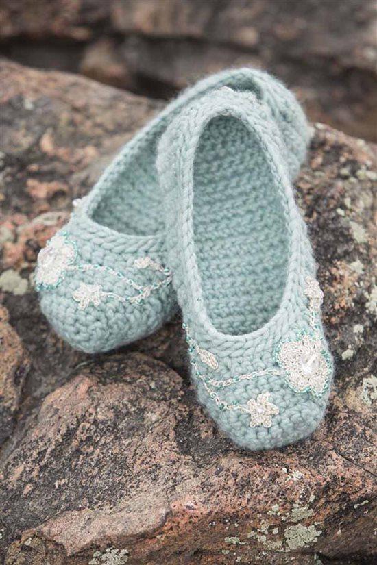 Crochet Ever After: Crochet Slippers
