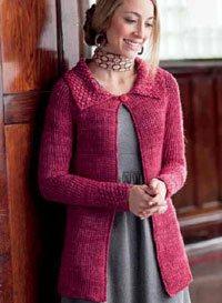 Tunisian Crochet Jacket