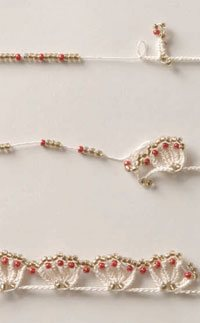 how to bead crochet edging
