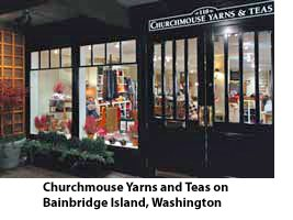 Churchmouse Yarns and Teas