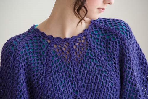 Blueprint Crochet Sweaters: Crochet Pullover
