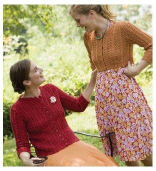 Katharine Hepburn Knitted Cardigan