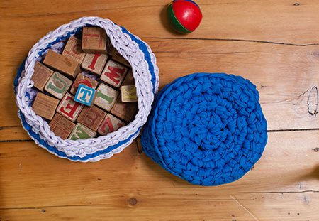 Linked Nesting Baskets Top