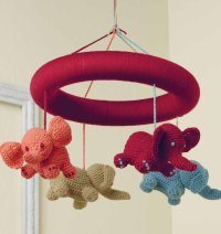 Baby Blueprint Crochet - Ellie on Parade Crochet Mobile