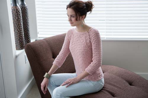 Blueprint Crochet Sweaters: Lace Crochet Pullover
