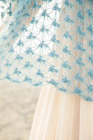 Solomon's Knot Crochet Shawl