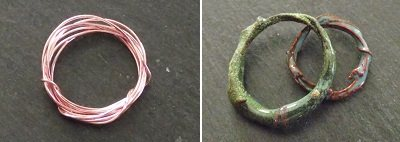 enameled wire coils