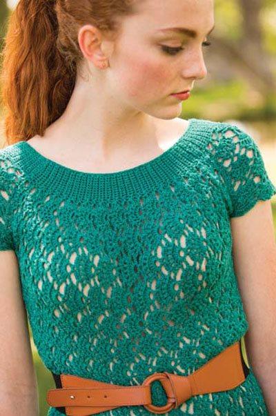 Colorful Crochet Lace: Lace Crochet Dress