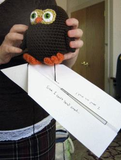 Crochet Amigurumi - Owl