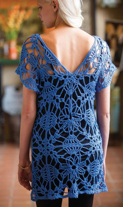 Colorful Crochet Lace: Crochet Tunic