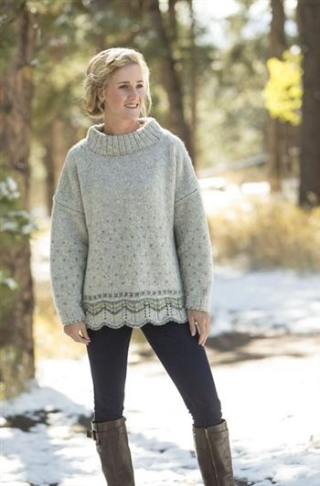 Elsa Sweater from First Frost by Lucinda Guy