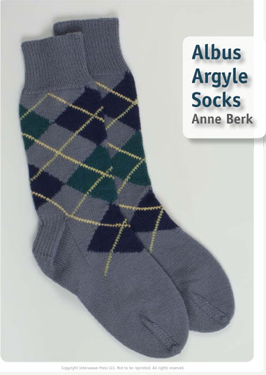 Albus Argyle Socks, As Seen on Knitting Daily TV Episode 910 ...