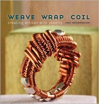 Learn how to weave, wrap and coil your way to beautiful wire jewelry in this fabulous wire jewelry making book.