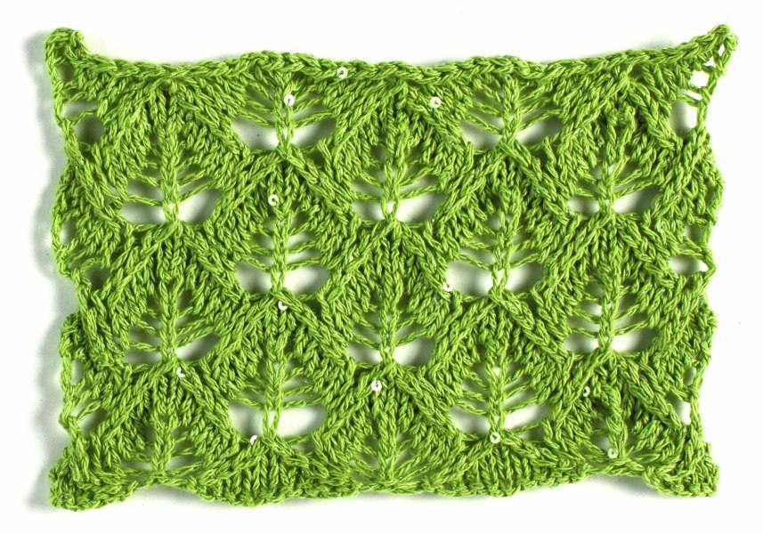The Handmade Life Seven Ways To Knit A Leaf Interweave
