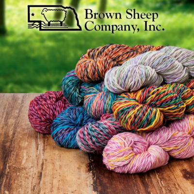 DK Weight Cotton and Wool Yarn from Brown Sheep Company, Inc.