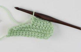 Linked Double Crochet