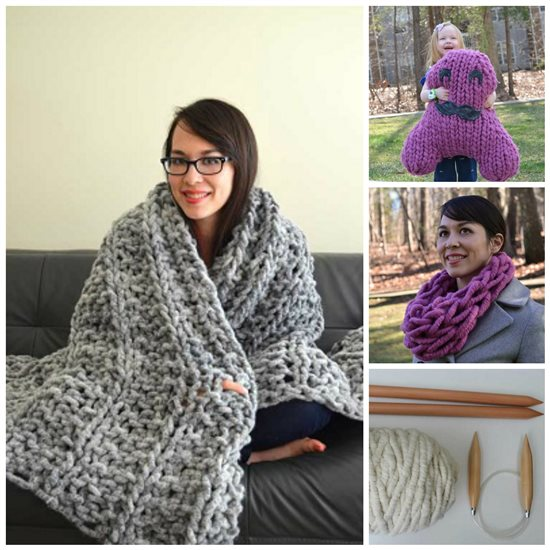 Chunky Knitting Supersize Your Knits With Quick Cute Ideas For