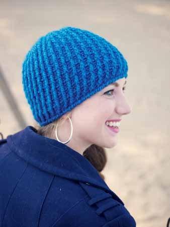 Front Post Crochet Hat