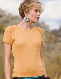 Learn how to knit the Sigma Tee by Melissa Wherle.
